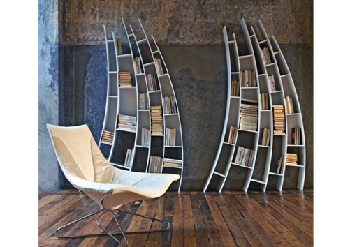 Bookshelves from Saba Italia 2010 collection