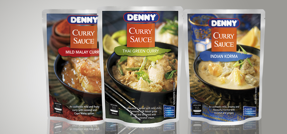 Curry Sauce Packaging