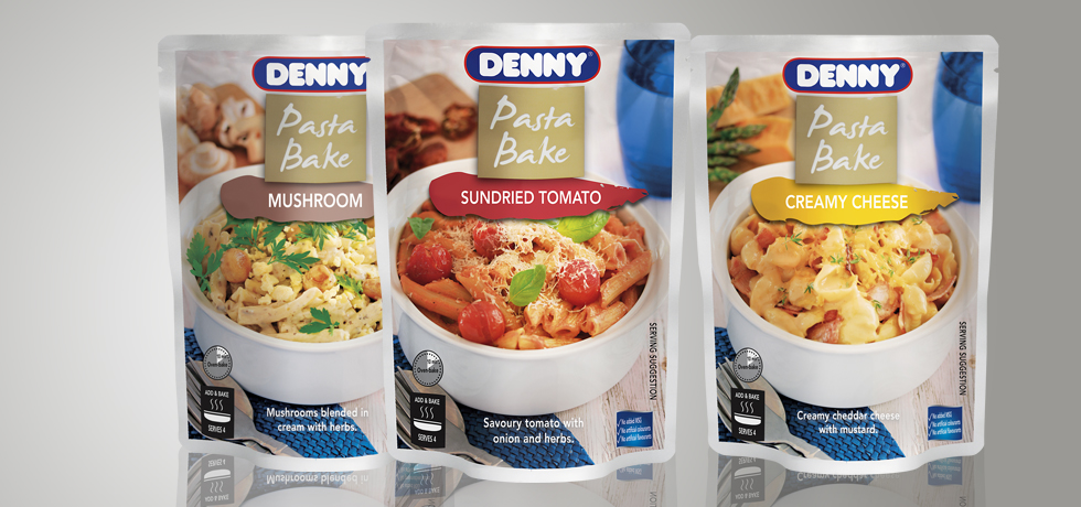 Pasta Bake Packaging